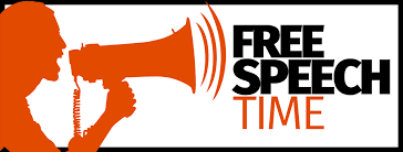 FREE SPEECH TIME
