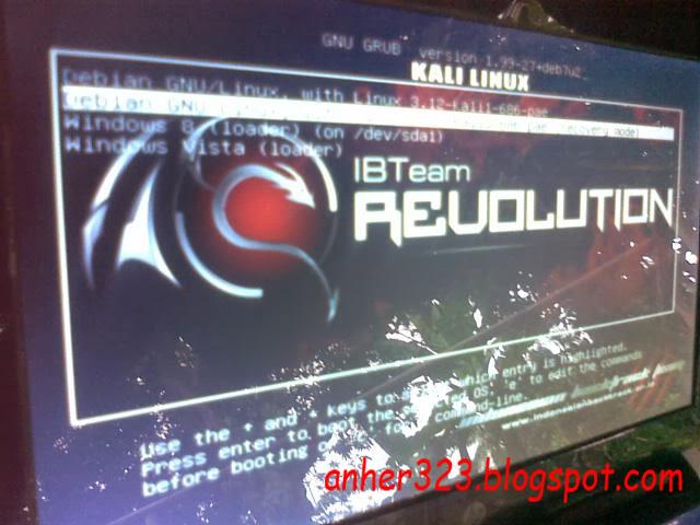 Merubah Tampilan Background Grub Kali Linux