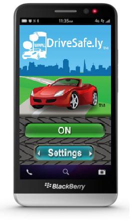 Hoy en día la mayoría de los accidentes automovilísticos por culpa de conductores imprudentes se han vuelto cada vez más frecuentes. Contestar llamadas y mensajes por el celular al manejar representa un peligro para los peatones, demás conductores e incluso para uno mismo. Por esta razón, BlackBerry alienta a sus usuarios a descargar Drive Safe.ly, una aplicación que los ayudará a convertirse en conductores responsables y preocupados por la seguridad al volante. Drive Safe.ly para BlackBerry 10 contesta automáticamente el teléfono o responde los mensajes de texto haciendo uso del altavoz. Cuenta con distintas opciones y comandos personalizables para hacerse