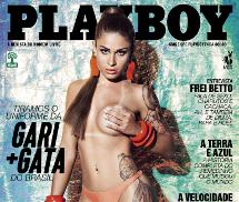 Rita Mattos (Gari Gata) Playboy Brasil Setembro 2015
