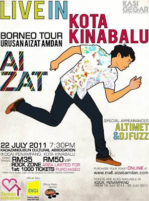Aizat Konsert Borneo Tour 2011