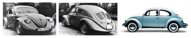 Prototipo VW 30, del que dribo el VW escarabajo