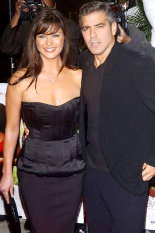 Catherine Zeta Jones y George Clooney