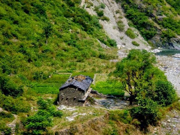 Uttarakhand photos, Uttarakhand himalayas, villages India