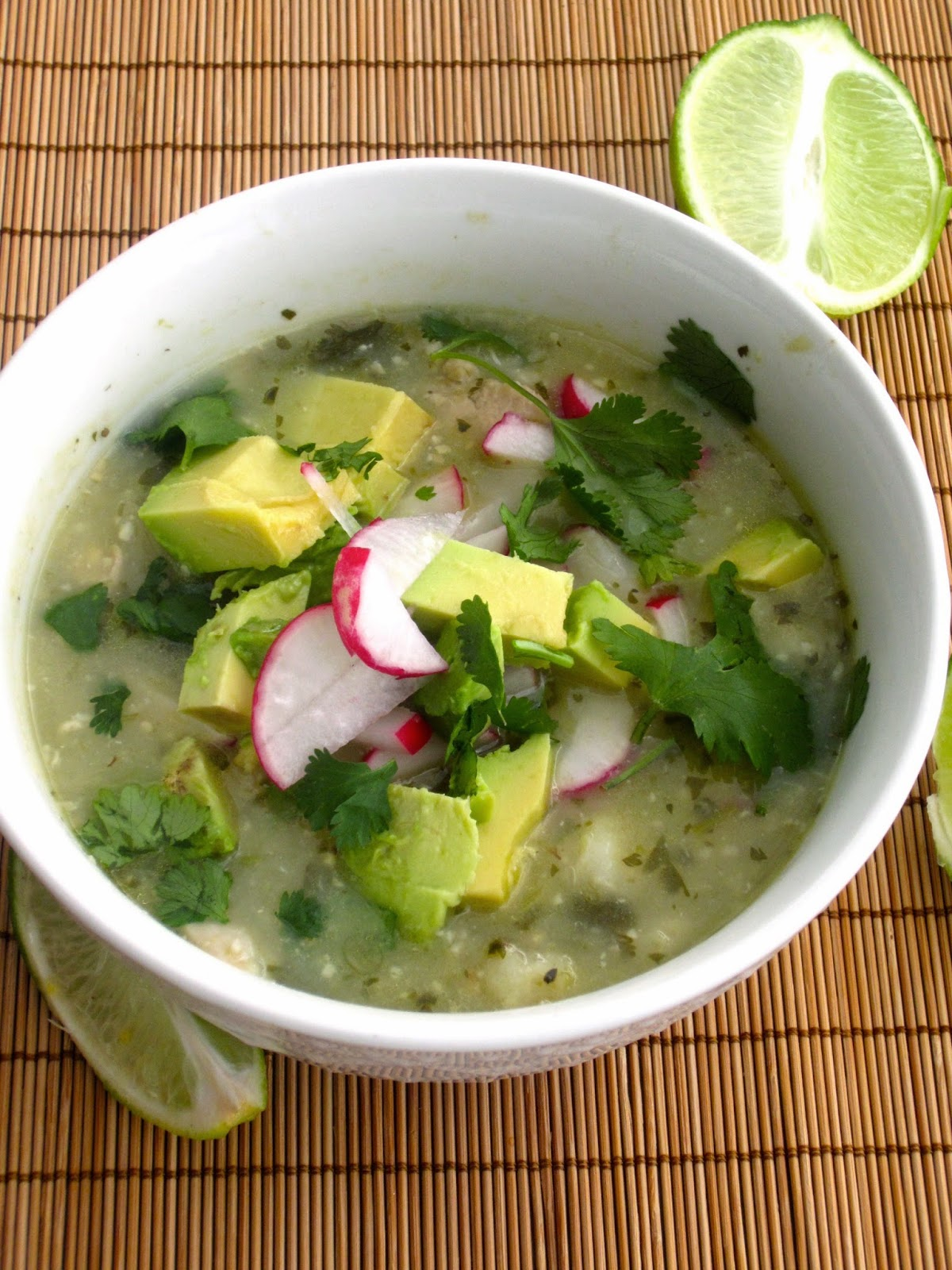 Pozole Verde (with Chicken)