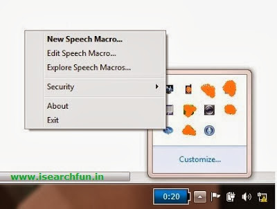windows speech recognition macros for xp