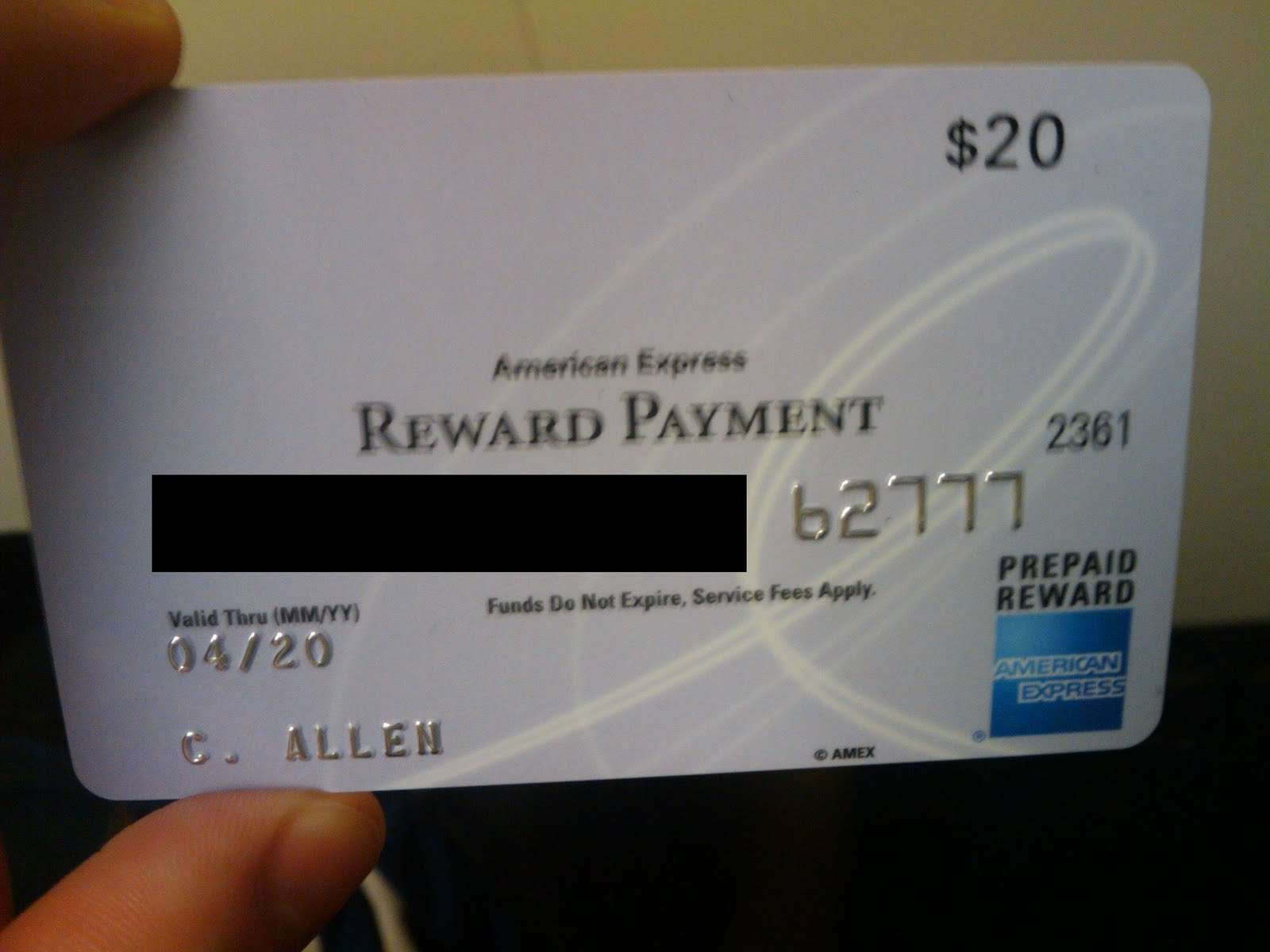 Chris Allen's Spectacularly Mediocre Blog: American Express Gift Cards