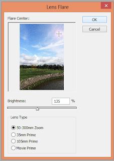 Edit Foto Di Photoshop Untuk Membuat Matahari