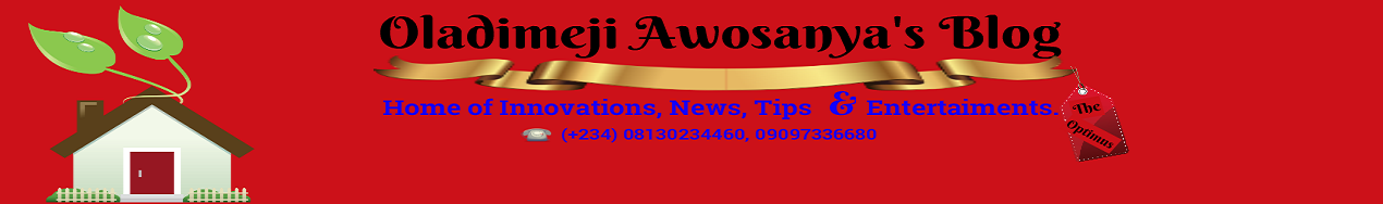 Oladimeji Awosanya's Blogs