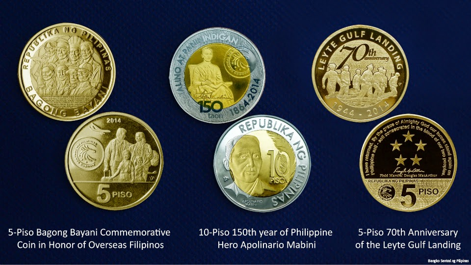 BSP's 3 new limited edition commemorative coins