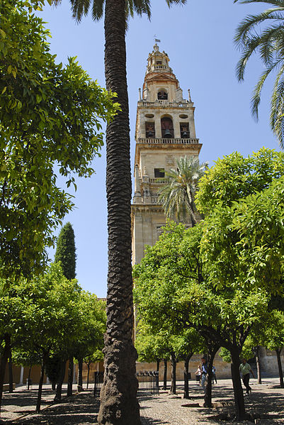 Masjid Cordoba, Minaret tower in Mezquita de Cordoba