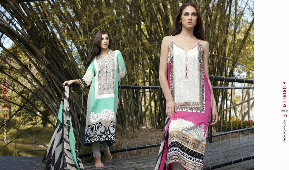 Firdous beautiful summer dresses