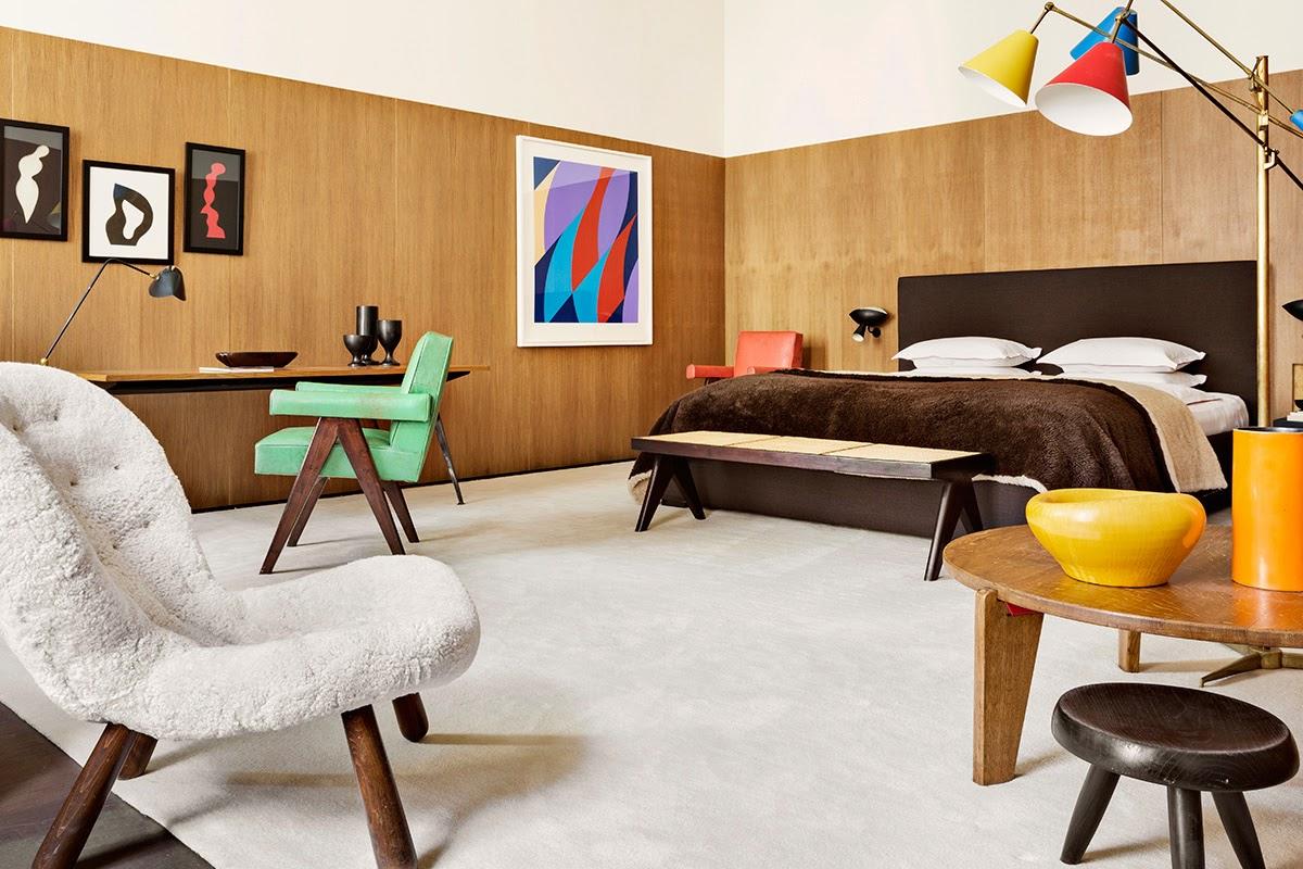 Jean Prouve trifft auf Serge Mouille - erlesenes Design zum Einrichten und Wohnen