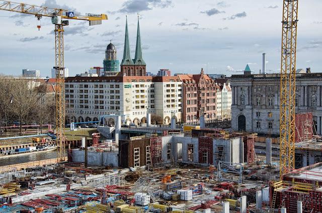 Baustelle Berliner Schloss, Stadtschloss, Schlossplatz, 10178 Berlin, 09.02.2014