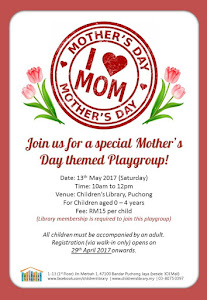 Mother's Day Playgroup: 13 May 2017