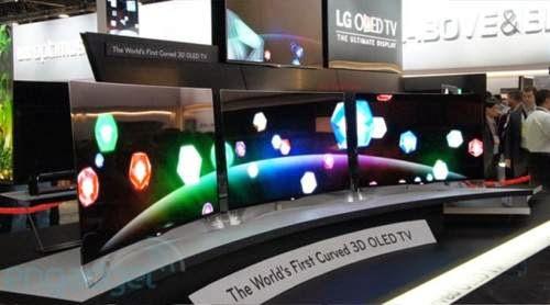 Στην αγορά από Σεπτέμβριο τηλεοράσεις υπερ-υψηλής ανάλυσης με κυρτές οθόνες!
