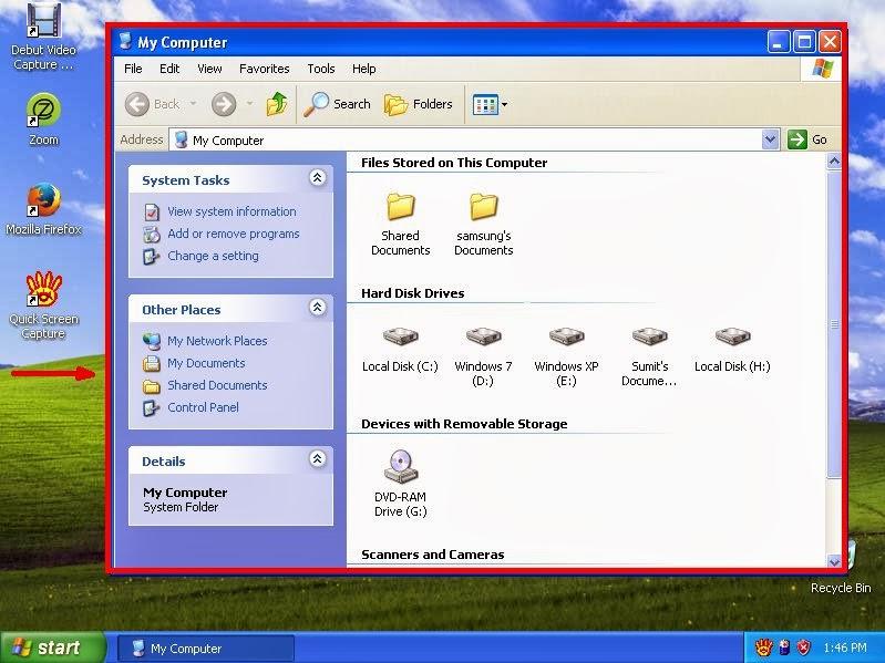 how to show hidden windows files os x
