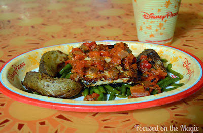 Sunshine Seasons Oak-grilled Fish with Seasonal Vegetables $11.79