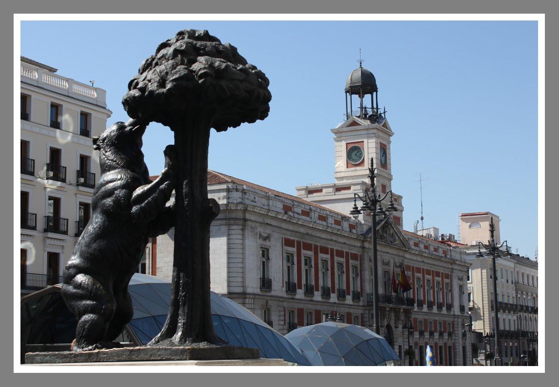 Foto luis rodr guez de jes s puerta del sol el reloj de for Puerta del sol 9 madrid