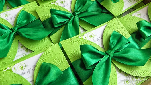 green wedding invitations 2014
