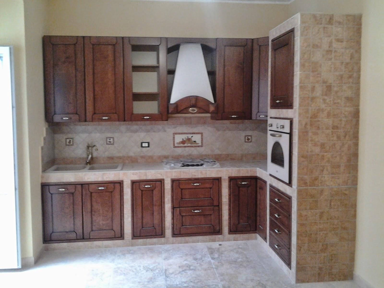 Architetto gaetano frud cucina in muratura - Cucinini in muratura ...
