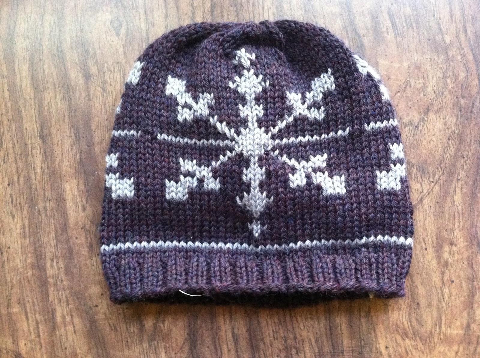 jaimalaya: Homemade Friday: Sebastian\'s Snowflake Hat