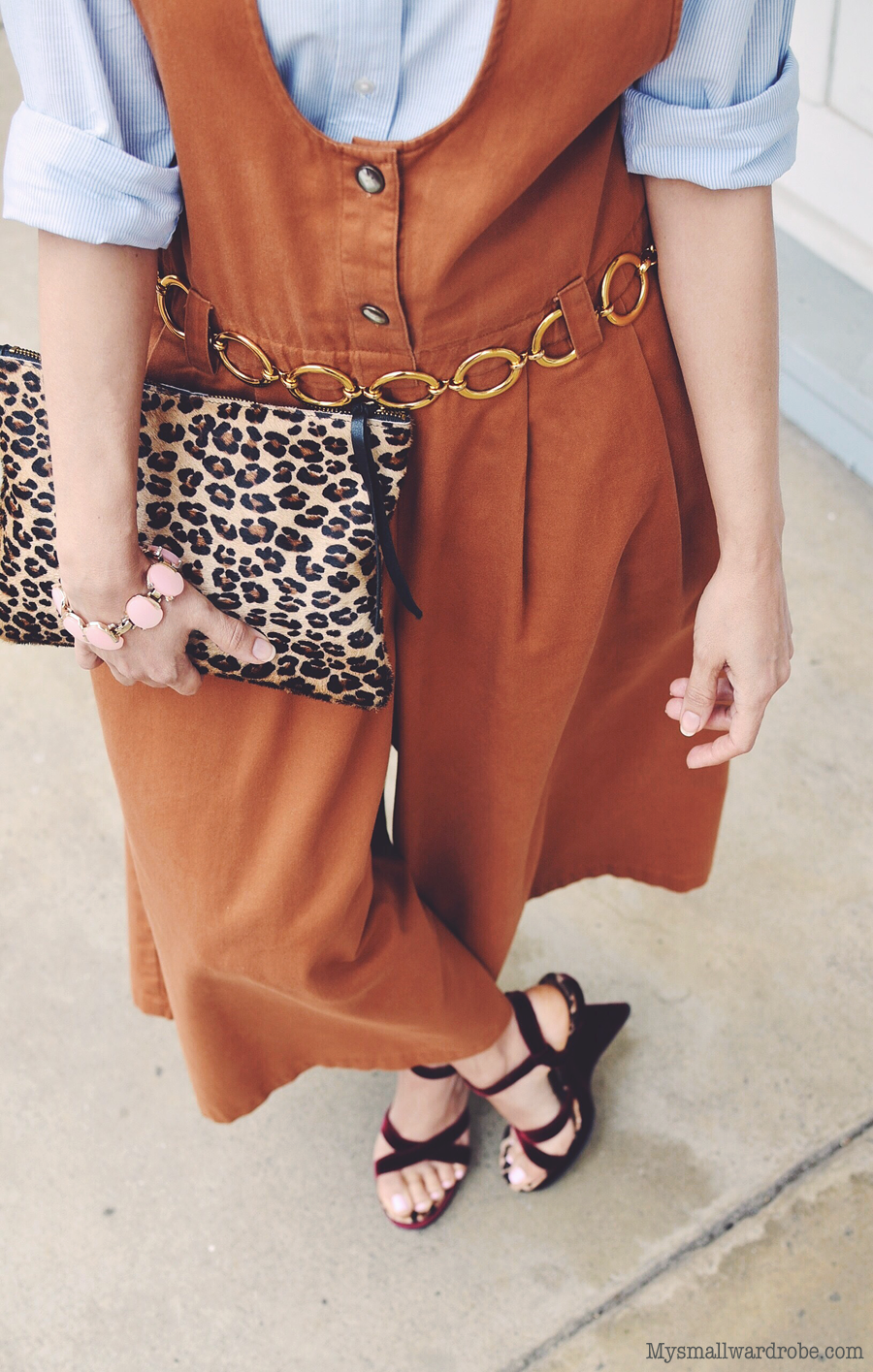 Outfit with culottes