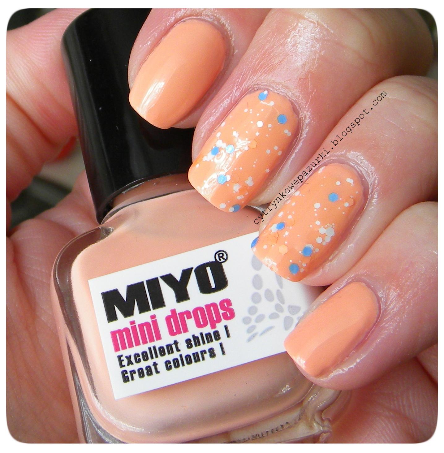 Poniedziałki z Miyo Mini Drops 162 Moccasin i Life 01