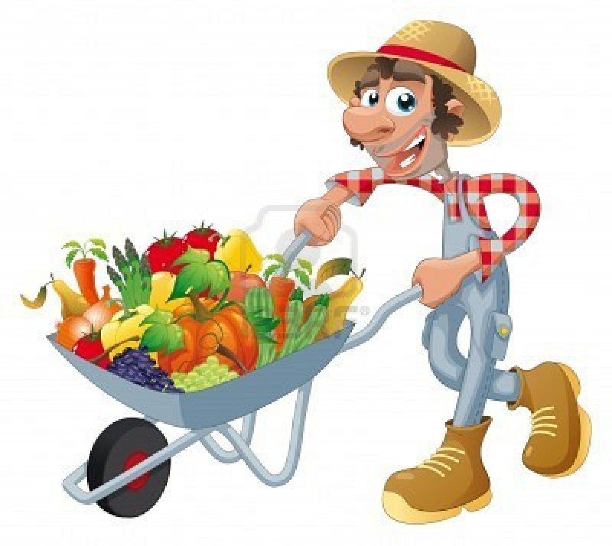 Cartoon Fruit Vegetables