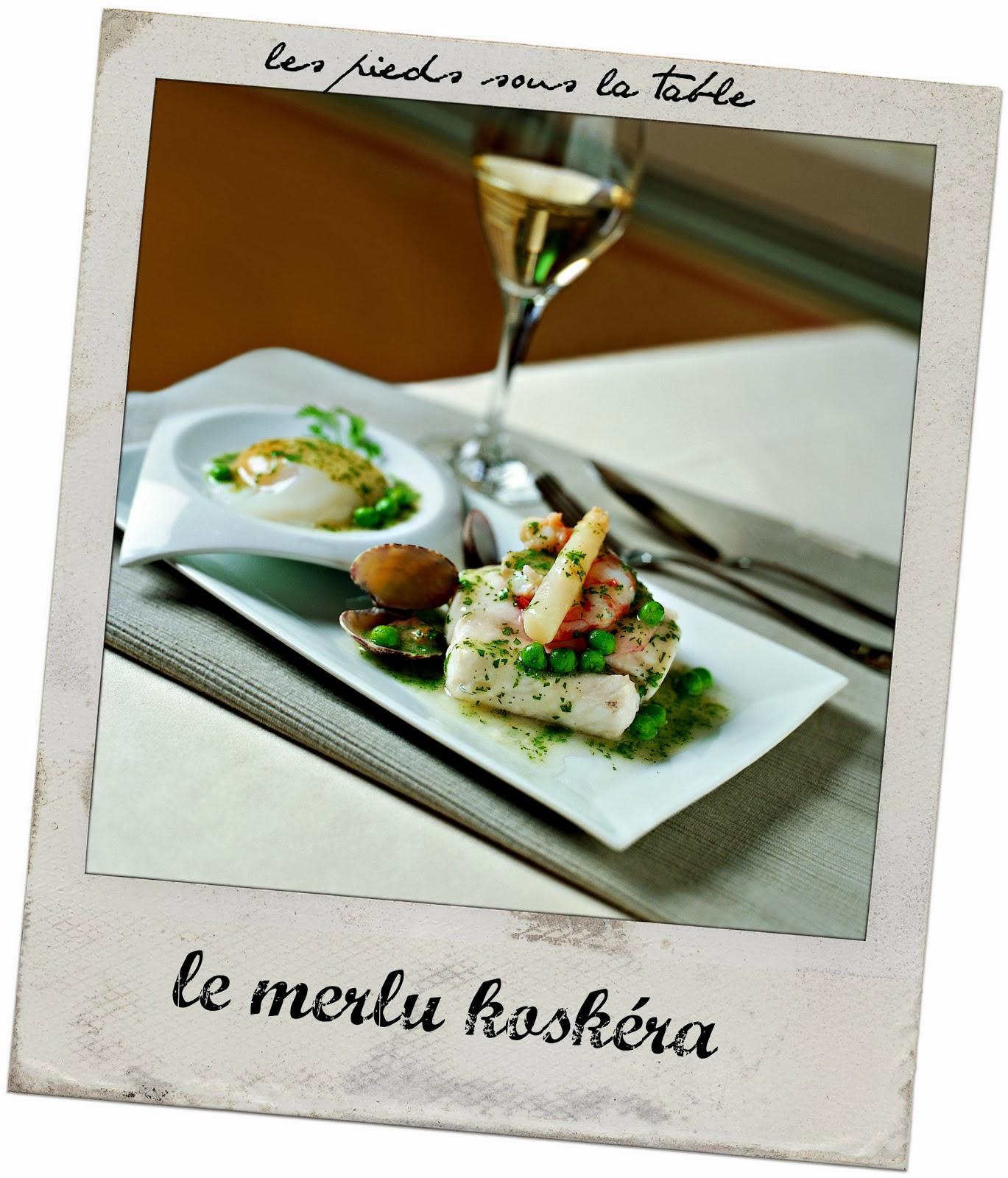 Le Merlu koskera plat du pays basque