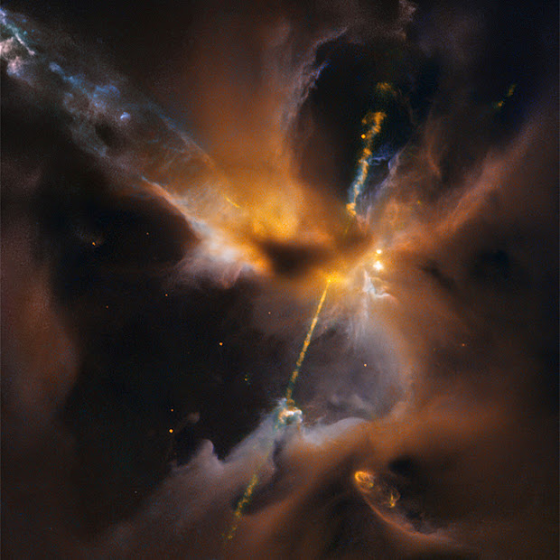 Herbig-Haro Object 24 (HH 24)