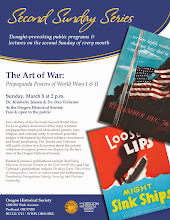 March 8, 2015 In-gallery Discussion at the Oregon Historical Society: The Art of War