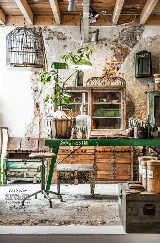 Antic chic decoraci n vintage y eco chic negocios - Decoracion de interiores vintage ...