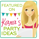 As seen on Kara&#39;s Party Ideas
