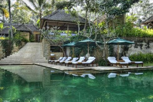 Komaneka Tanggayuda Hotel Bali Main Pool