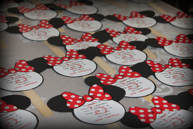Cumpleaños a lo Minnie/ Minnie-themed birthday party
