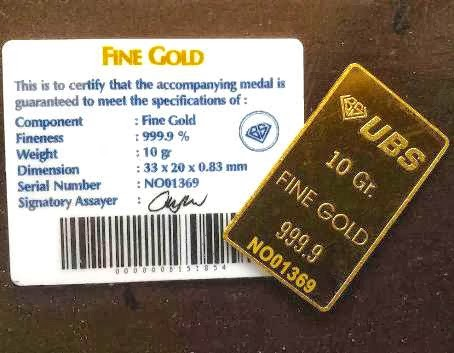Cara Investasi Emas Antam Batangan