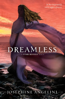 Review of Dreamless by Josephine Angelini published by Harper Teen