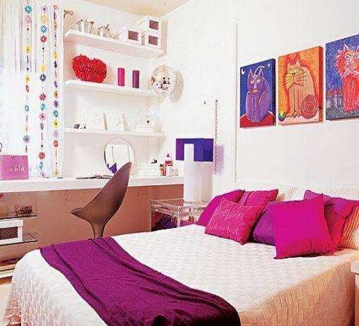 decoracion de habitaciones para mujeres parte 1