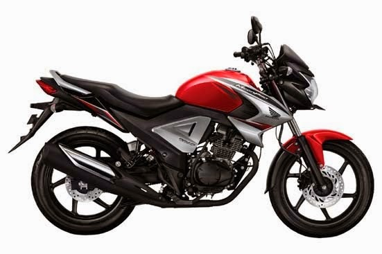 New Honda MegaPro FI Red