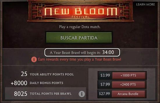 New Bloom DOTA 2