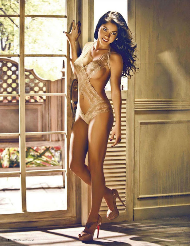 Arianny Celeste posing for May 2012 FHM Magzine, Philippines Issue