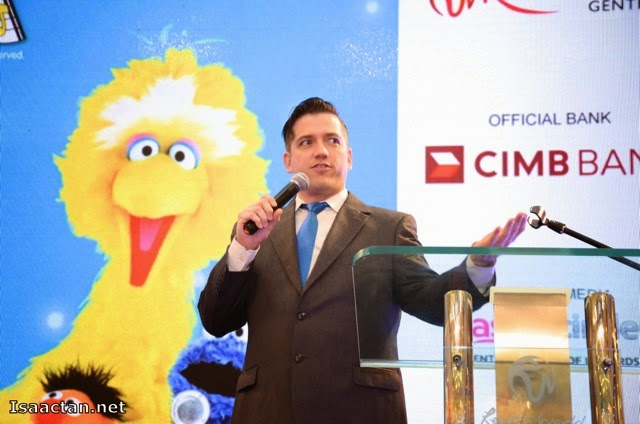 Christopher Harper, Director of 'Sesame Street Live - Elmo Makes Music'