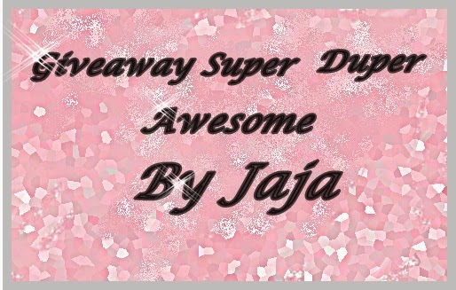 Giveaway Super Duper Awesome By Jaja