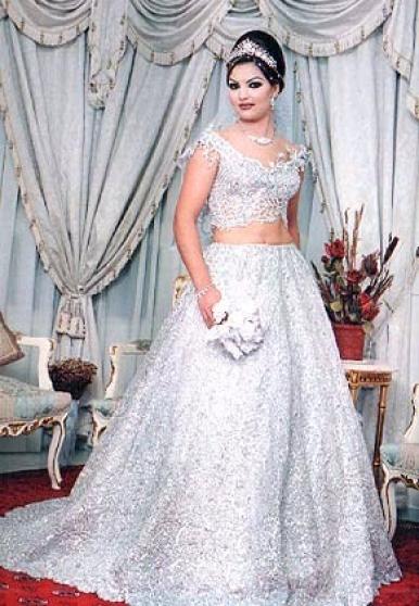 Robe de mariée tunisienne traditionnelle