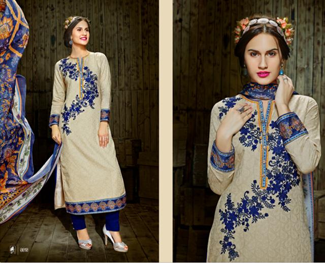 Indian Pashmina Salwar Suits Collection-14/15