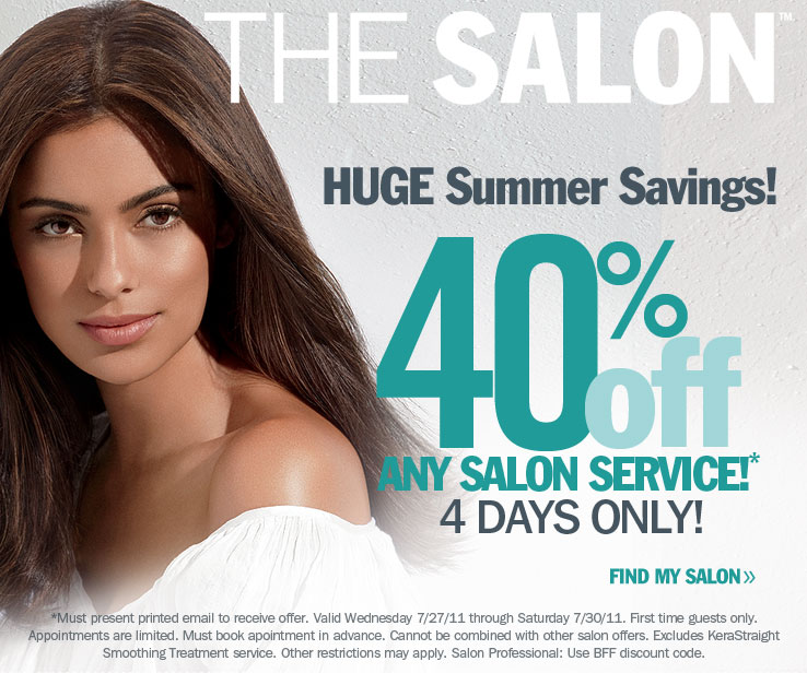 ulta salon coupons now!