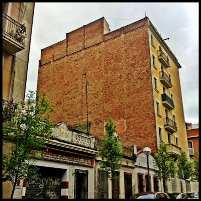 Paredes medianeras en Barcelona