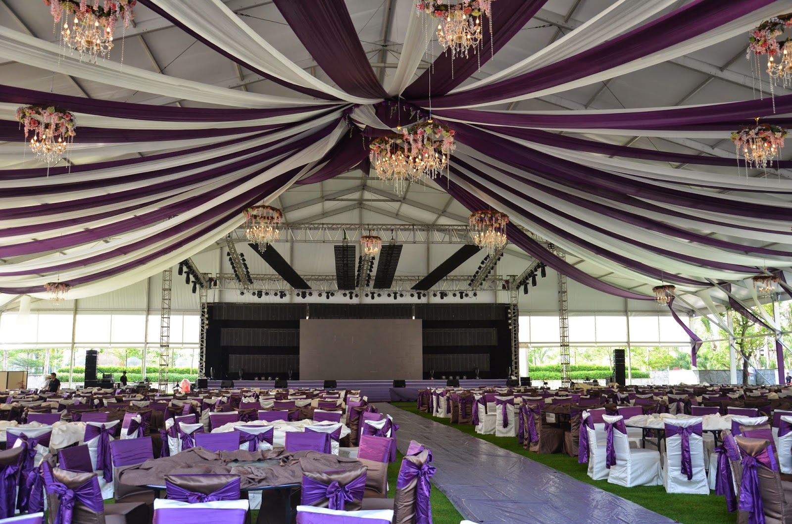 & Shelter Tents: Luxury Wedding Tent with Great Looking Decorations