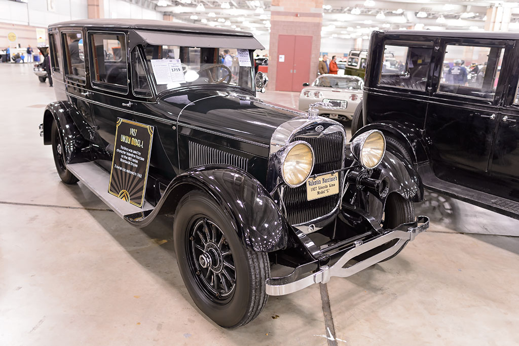 Boardwalk Empire's 1927 Lincoln Model-L